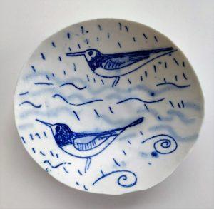 porcelain printed bowl